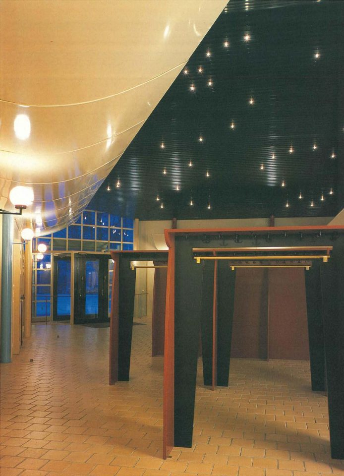 Foyer, Mikaelintalo Parish Centre