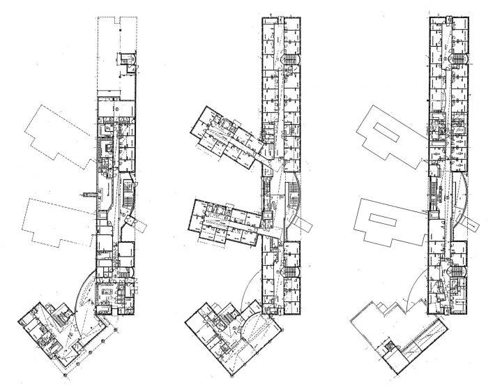 Ground floor, 1st floor, 2nd floor, Munkkiniemi Service Centre