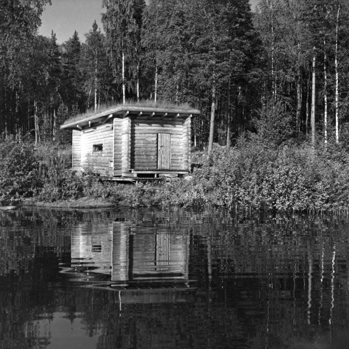 Sauna, Muuratsalo Experimental House