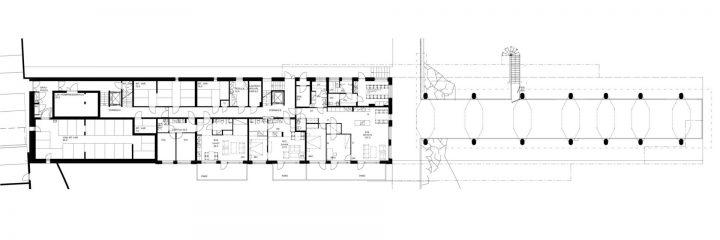 Ground floor., Merenkulkijanranta Housing