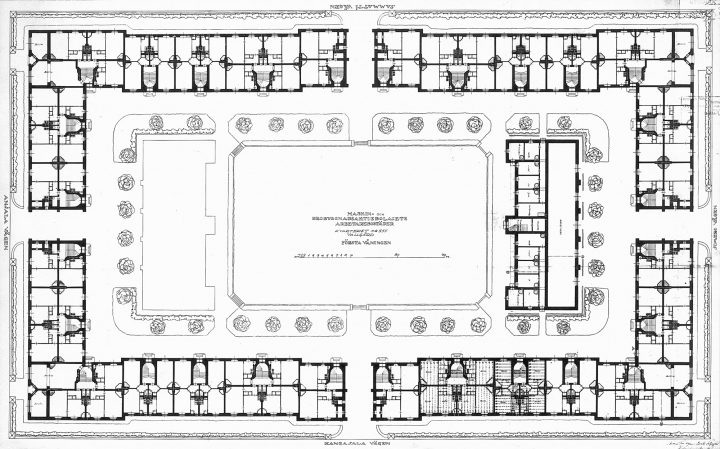 Floor plans, Workers' Housing for Kone ja Silta Ltd