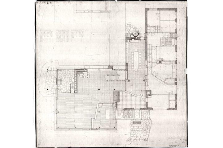 Floor plan, Villa Mairea