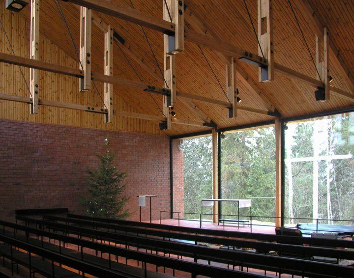 Church hall, Otaniemi Chapel