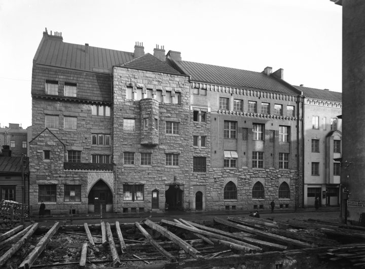 The Otava House photographed in the 1910s, Otava Publishing House