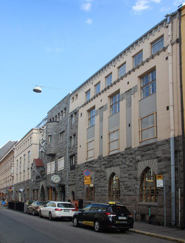 The street façade, Otava Publishing House