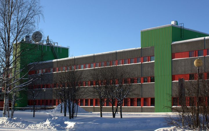 Economics and business administration building, University of Oulu Linnanmaa Campus