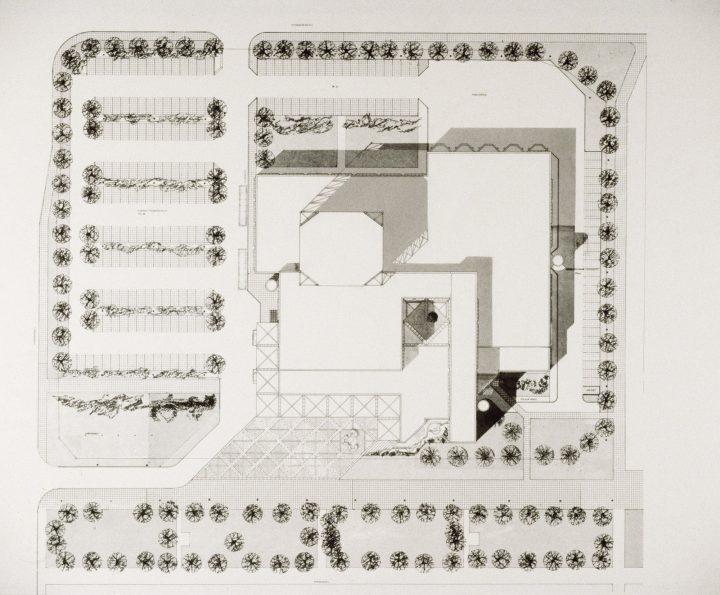 Site plan, Lahti City Theatre