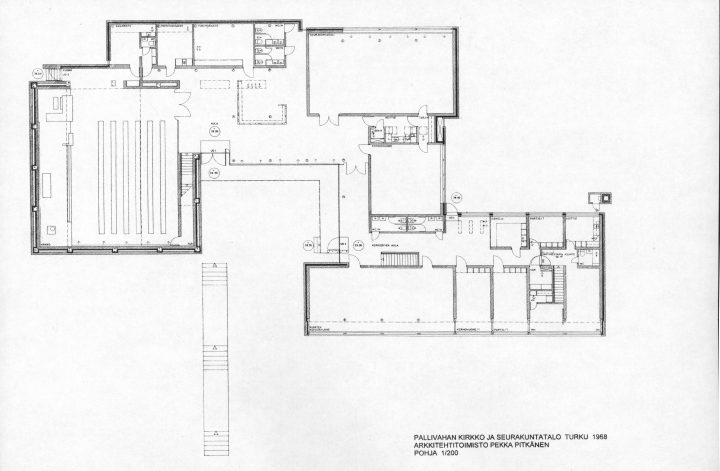 Floorplan, Pallivaha Church and Parish Centre