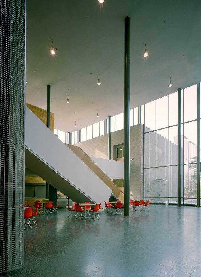 Main lobby, Helsinki University Physicum Building