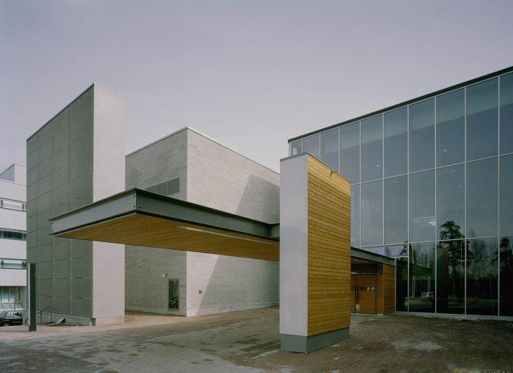 Main Entrance, Helsinki University Physicum Building