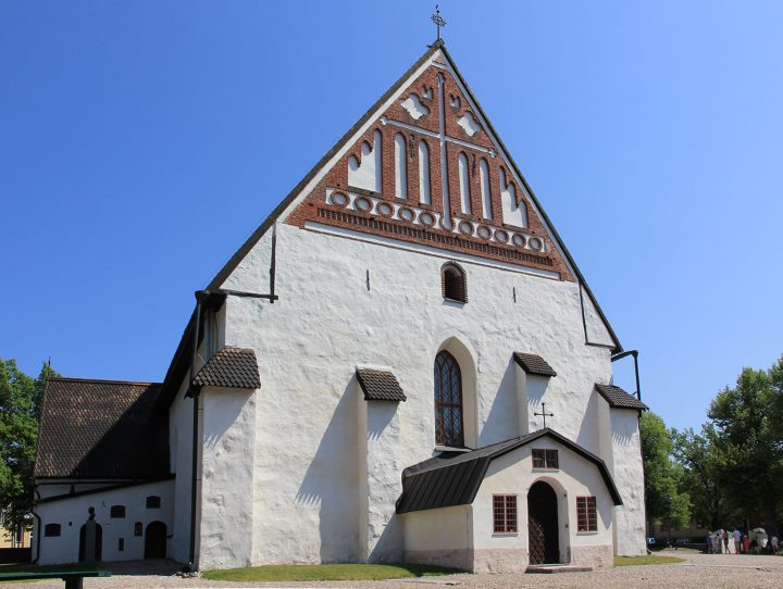 Cathedral from the west, Porvoo Cathedral