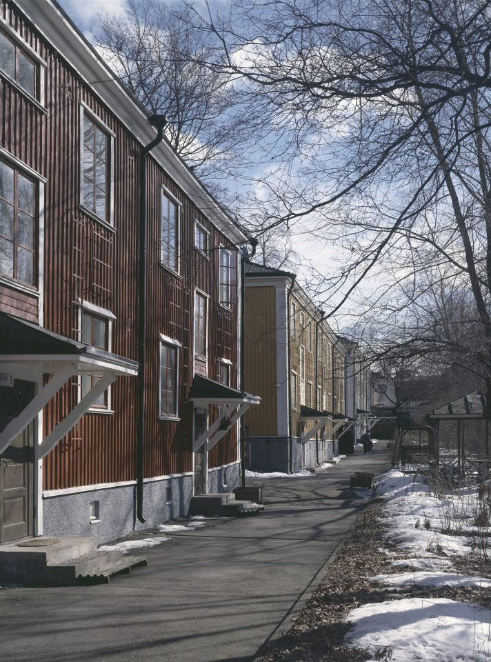 Vanajantie wooden houses, Puu-Vallila Wooden House District