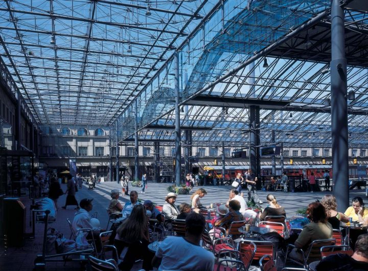 Platform roofing by Esa Piiroinen, 2001, Central Railway Station