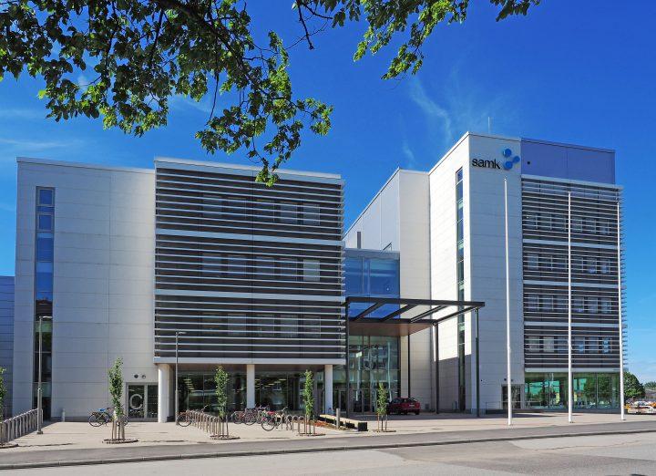 SAMK uusi kampus kesäkuussa 2017, SAMK Pori Campus