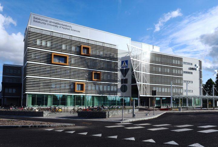 Main facade, SAMK Pori Campus