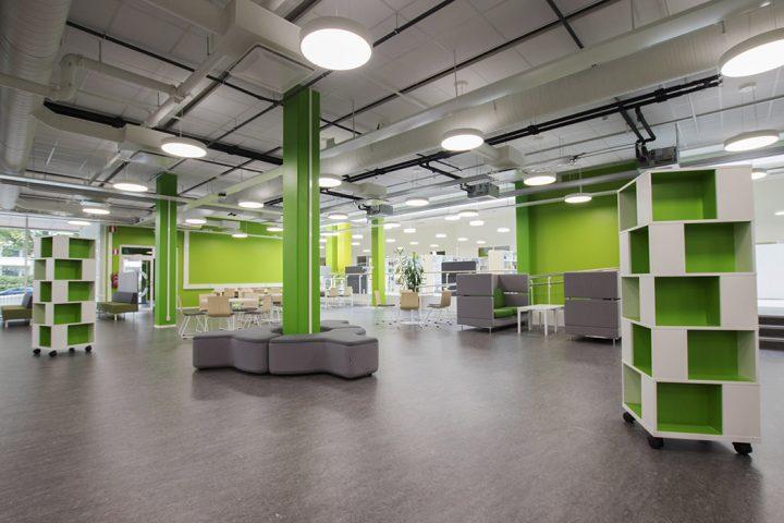 Interior, SAMK Pori Campus