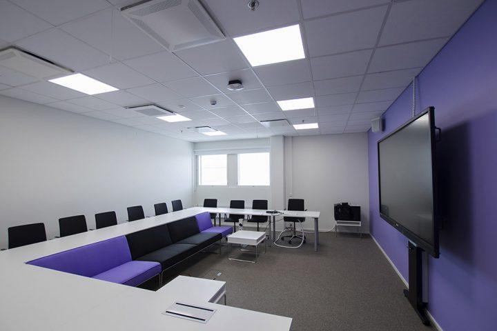Class room, SAMK Pori Campus