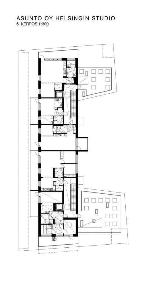 5th floor, Helsingin Studio Housing