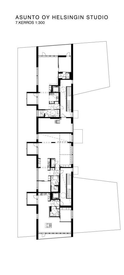 6th floor, Helsingin Studio Housing