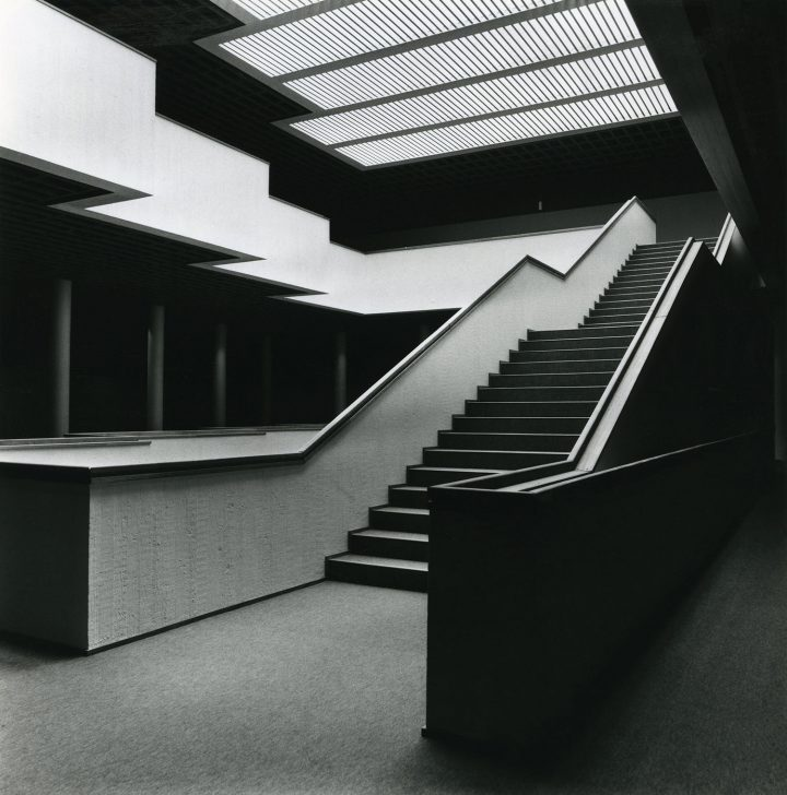 The main exhibition space in 1973, Satakunta Museum