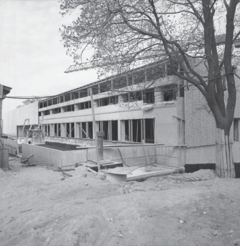 The construction site in 1972, Satakunta Museum