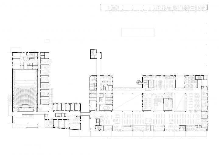 1st floor, Sello Library