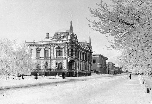 "Street view, Newander's house (""Signe Castle"")"