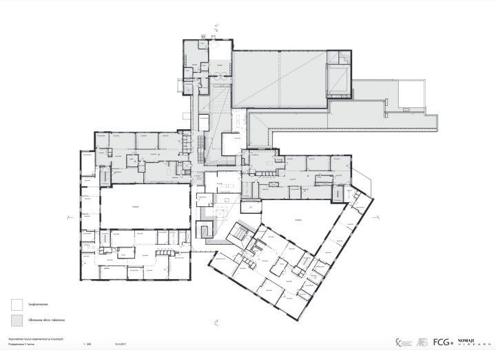 1st floor, Sipoonlahti School Extension