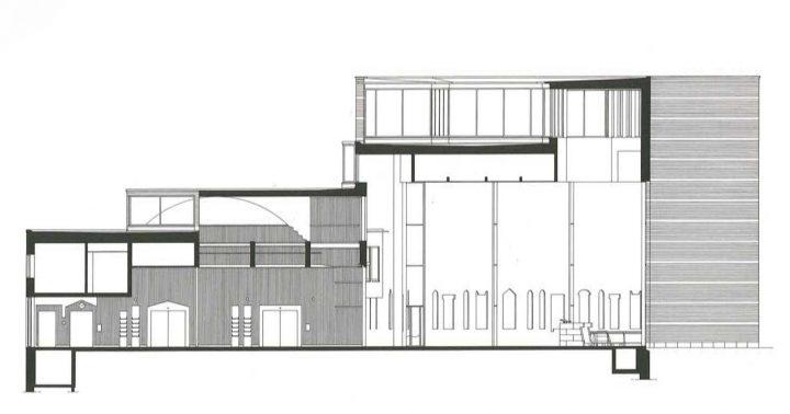 Section plan, St. Michael's Church