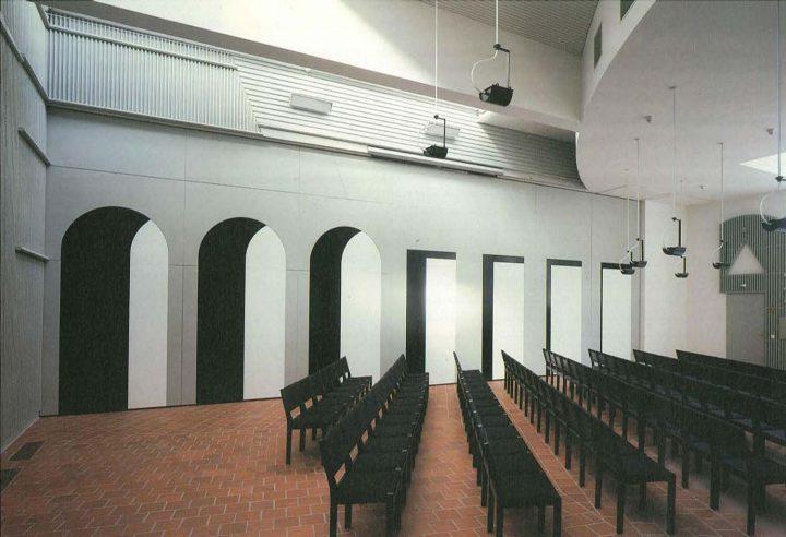Large parish hall, St. Michael's Church