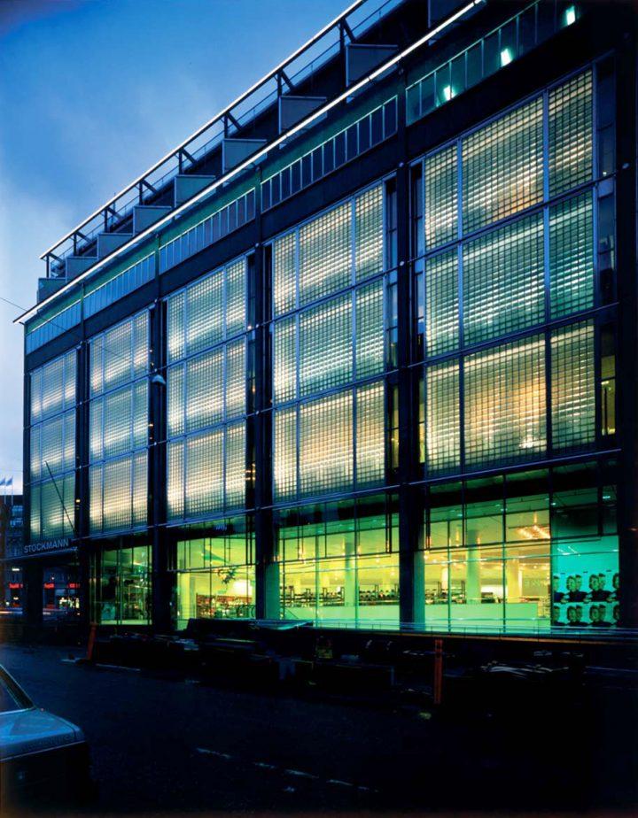 Extension by Gullichsen-Kairamo-Vormala Architects, 1989 , Stockmann Department Store