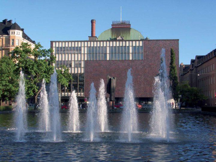 Extension on the Kaisaniemi Park side by Heikki and Kaija Siren, photo from 2002 , Finnish National Theatre