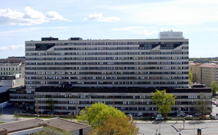 Northern façade, Turku University Hospital, U Building