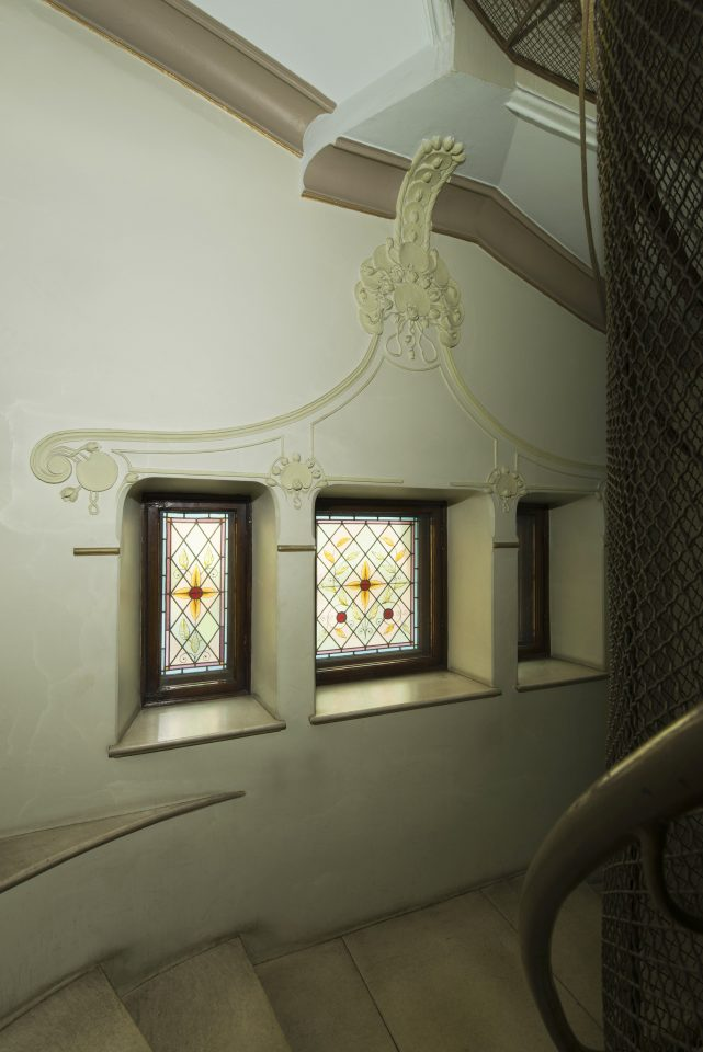 Staircase, Tallberg House