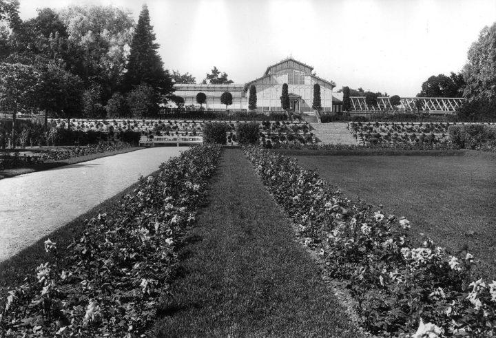 Main facade in the 1920s, Winter Garden