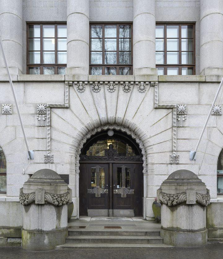 Main entrance, Mortgage House