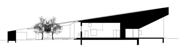 Section plan, Tillinmäki Daycare Centre