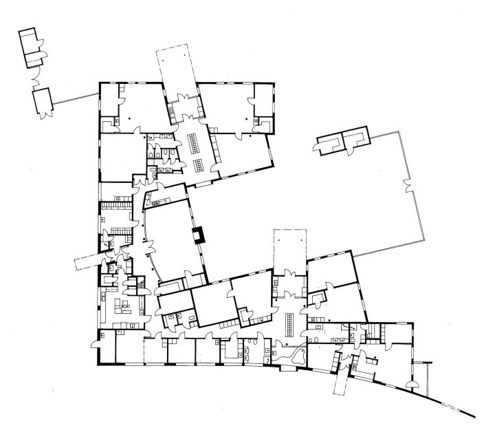 Floor plan, Toppelund Daycare Centre