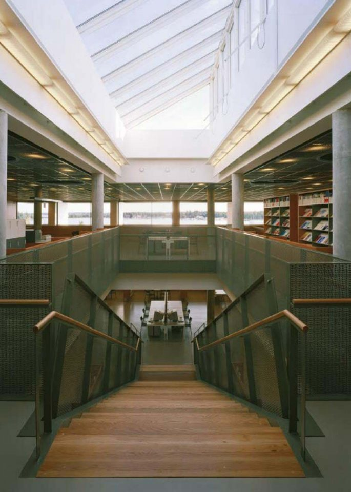 Staircase, Tritonia Science Library