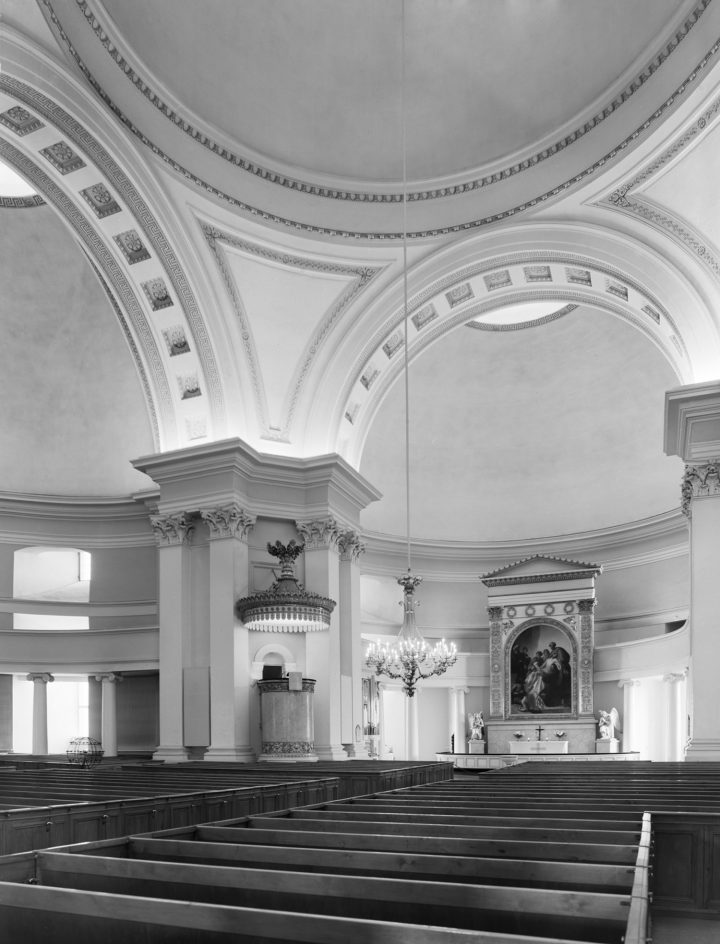 Interior in 1996, Helsinki Cathedral