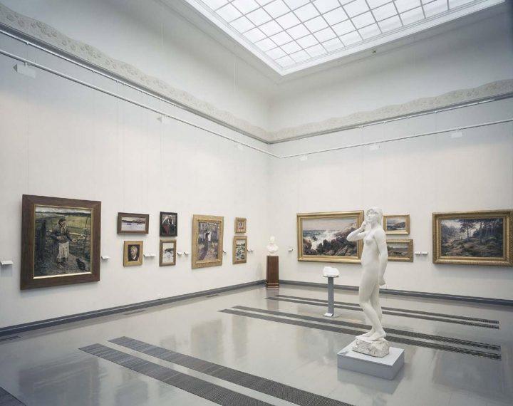 Exhibition space, Turku Art Museum