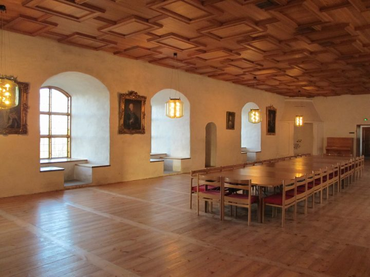 Queen's Hall on the Renaissance floor., Turku Castle