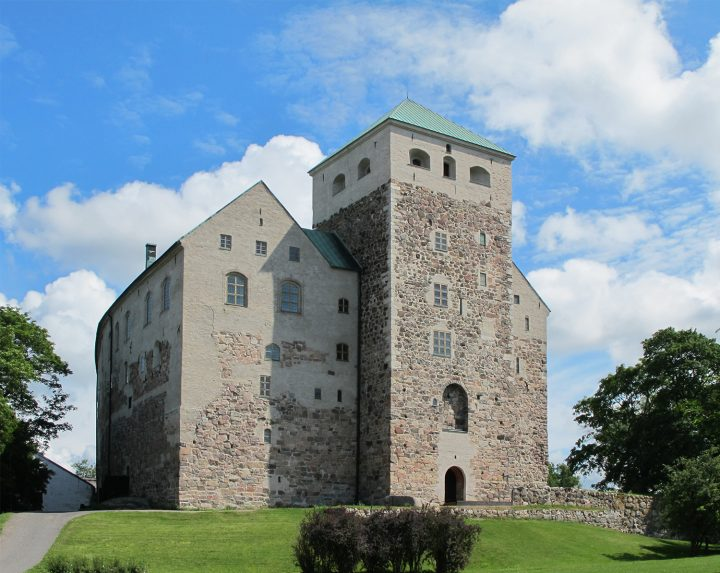 Harbour side., Turku Castle