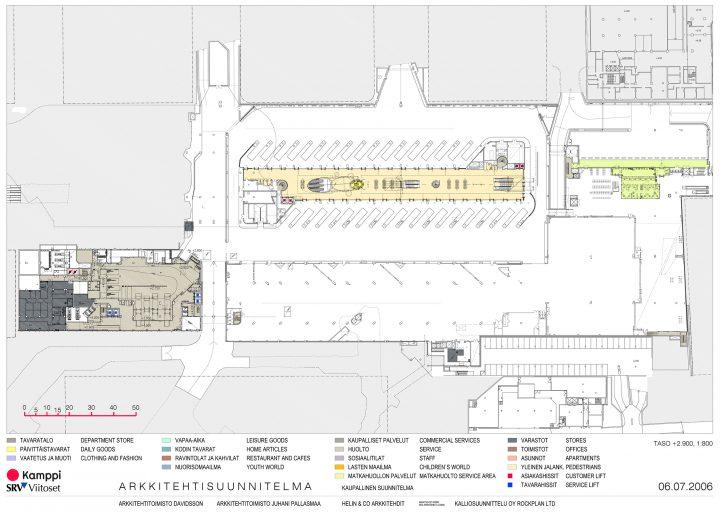 Basement, Kamppi Shopping Centre and Public Transport Terminal
