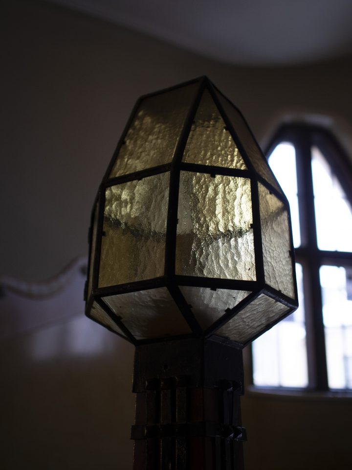 A lantern on the staircase, Uudenmaankatu 5 Art Nouveau Building