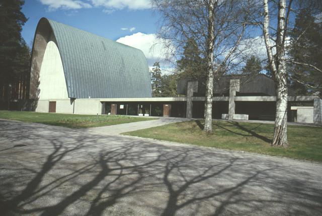 Western façade, Vatiala Chapel
