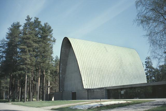 Western facade, Vatiala Chapel