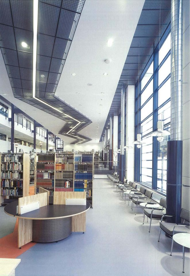 Loaning section, Vihti Main Library