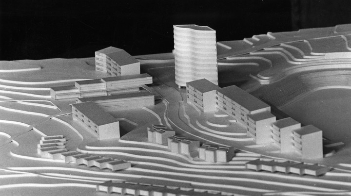 An early model of Viitaniemi area, Viitatorni