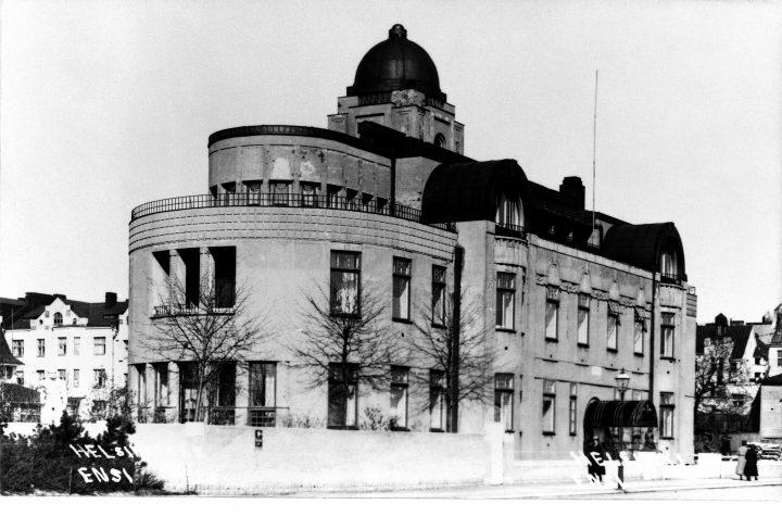 Street façade in the 1920s, Villa Ensi
